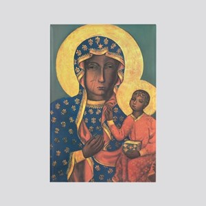 Our Lady of Czestochowa Rectangle Magnet