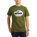 Boy Big Cousin Organic Men's T-Shirt (dark)