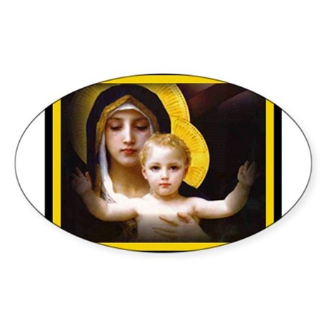 MIRACLES DO HAPPEN Oval Sticker