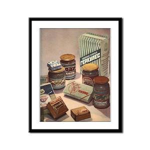Prepackaged USSR Goods Framed Panel Print