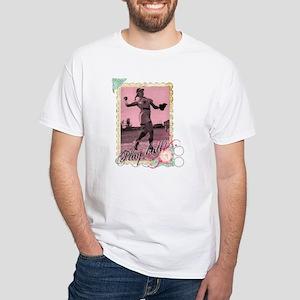 Play Ball White T-Shirt