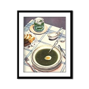 Russian Soup Framed Panel Print