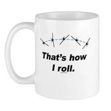 Airplane Roll Mug
