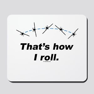 Airplane Roll Mousepad