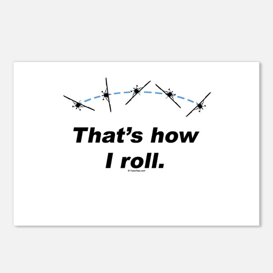 Airplane Roll Postcards (Package of 8)