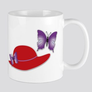 Red Hat Butterfly Coffee Mug