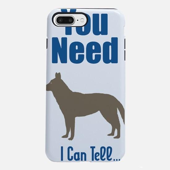 siberian huskyL.png iPhone 7 Plus Tough Case