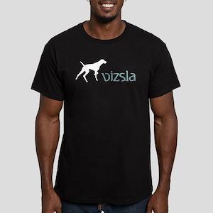 Vizsla Men's Fitted T-Shirt (dark)