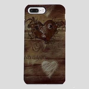 Steampunk Love iPhone 7 Plus Tough Case