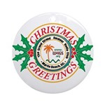 GSARC Christmas Ornament (Round)