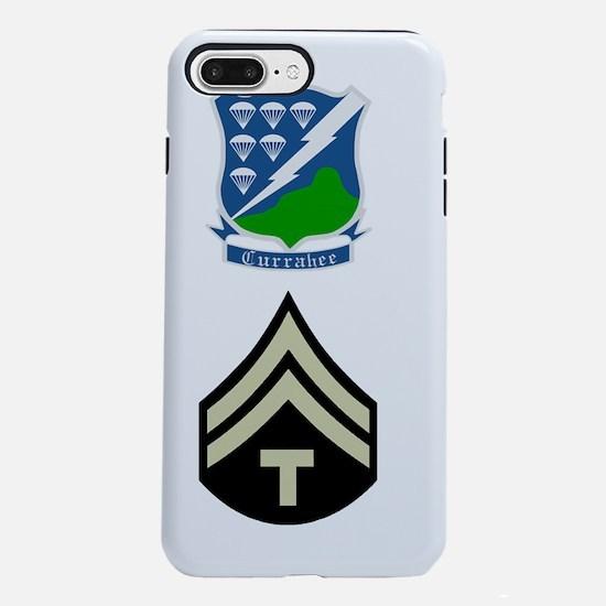 Army-506th-Infantry-Tech5 iPhone 7 Plus Tough Case