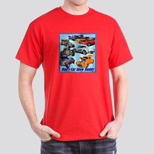 """Dad's Car Show Buddy"" Dark T-Shirt"