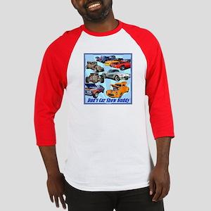 """""""Dad's Car Show Buddy"""" Baseball Jersey"""