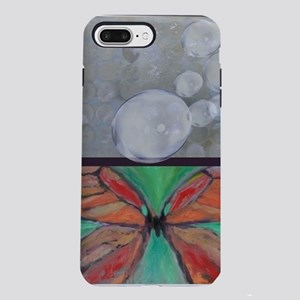 Butterfly Bubbles iPhone 7 Plus Tough Case