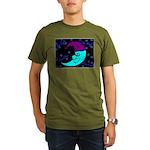 Sleepy Moonlight Organic Men's T-Shirt (dark)