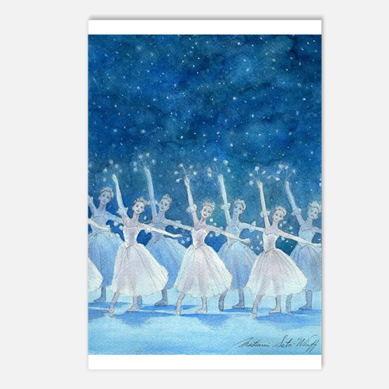 Dance of the Snowflakes Postcard (8ct)