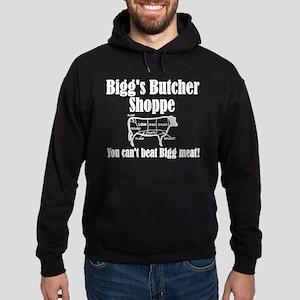 Bigg's Butcher Shoppe Hoodie (dark)