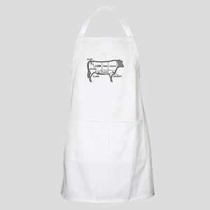 Beef Diagram BBQ Apron