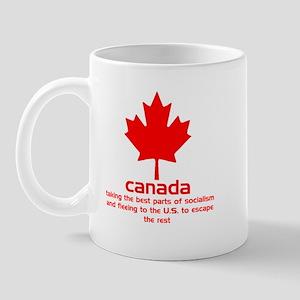 Socialist Canada Mug
