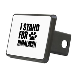 I Stand For Himalayan Cat Rectangular Hitch Cover