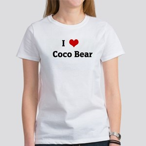 I Love Coco Bear Women's T-Shirt