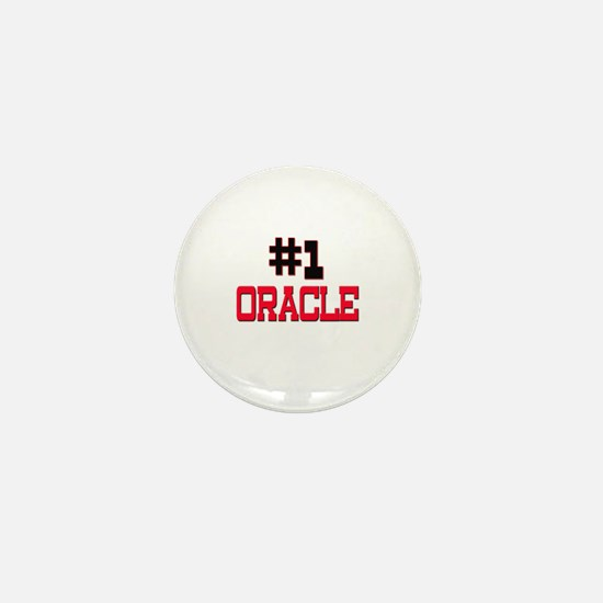 Number 1 ORACLE Mini Button