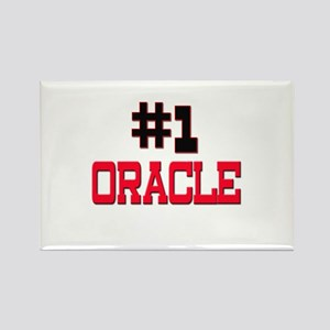 Number 1 ORACLE Rectangle Magnet