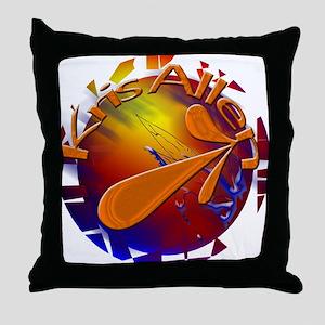Shatter ROCK KRIS ALLEN Throw Pillow