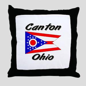 Canton Ohio Throw Pillow