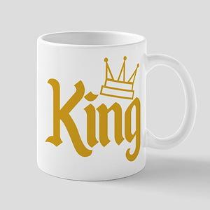 King Gold Mug