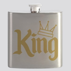 King Gold Flask