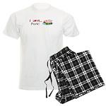 I Love Pork Men's Light Pajamas