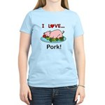 I Love Pork Women's Classic T-Shirt