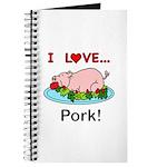 I Love Pork Journal