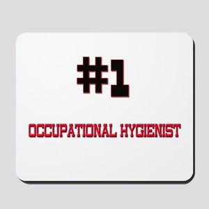 Number 1 OCCUPATIONAL HYGIENIST Mousepad