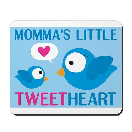 MOMMA'S LITTLE tweet HEART Mousepad