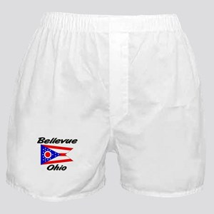 Bellevue Ohio Boxer Shorts