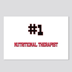 Number 1 NUTRITIONAL THERAPIST Postcards (Package