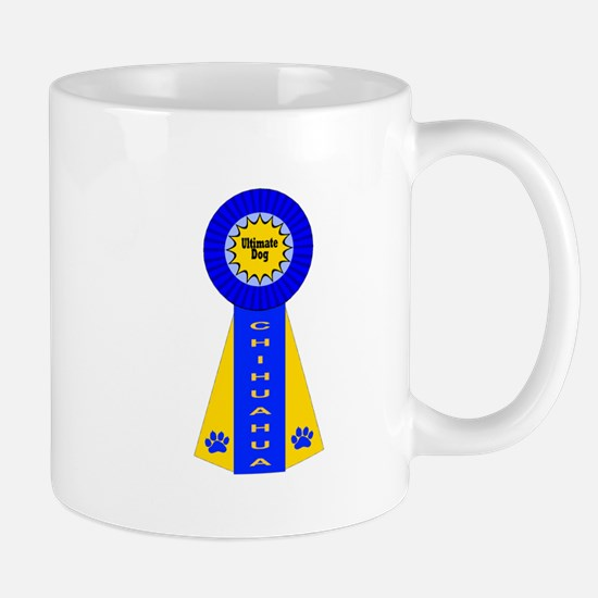 Chihuahua Blue Ribbon Mug