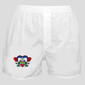 Heart Haiti Boxer Shorts