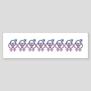 SWINGERS SYMBOL FMF Bumper Sticker