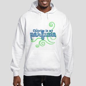 Chlorine is my Perfume (3 des Hooded Sweatshirt