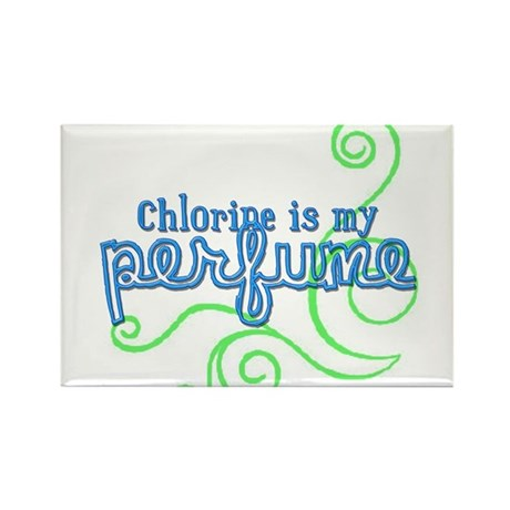 Chlorine is my Perfume (3 des Rectangle Magnet (10