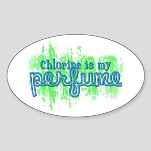 Chlorine is my Perfume (3 des Oval Sticker