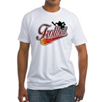 Trollball! Fitted T-Shirt