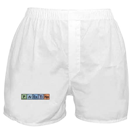 Palestine made of Elements Boxer Shorts