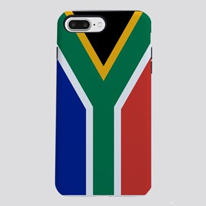 South Africa Flag iPhone 7 Plus Tough Case