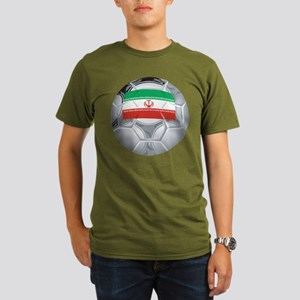 Iran Football Organic Men's T-Shirt (dark)