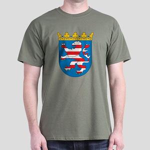 Hesse Coat Of Arms Dark T-Shirt