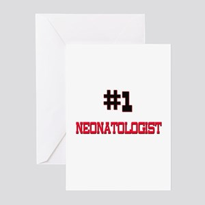 Number 1 NEONATOLOGIST Greeting Cards (Pk of 10)